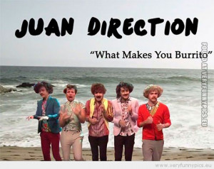 ... Picture - Mexican one direction juan direction what makes you burrito