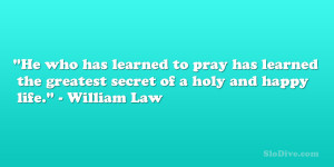 William Law Quote