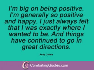 11 Quotes By Andy Cohen