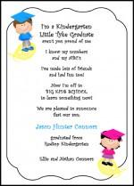 Preschool Graduation Announcements - Kindergarten Graduating ...