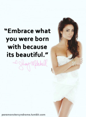 shay mitchell quotes