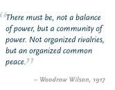 Woodrow Wilson WW1 Quotes