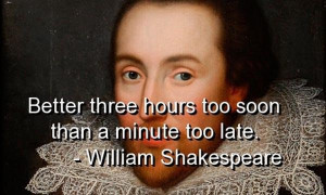 William shakespeare quotes sayings deep time witty