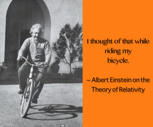What is Your Favourite Bicycle Quote?