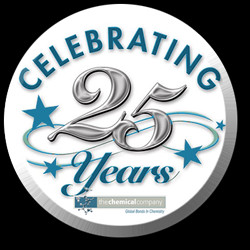 company celebrating our 25 year anniversary the chemical company ...