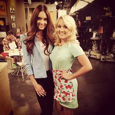 Mallory Jansen and Emily Osment are stunning on the set of Young ...