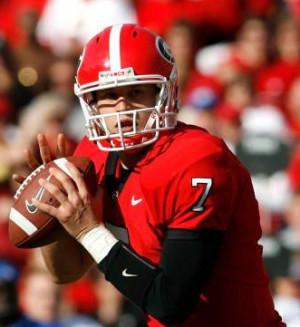 Matthew Stafford is a three-year starter QB at University of Georgia ...