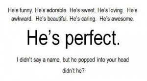 quote # saying # sayings # perfect # him # heis # name # names # head ...