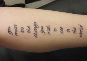26 Totally Unique Tattoo Quotes