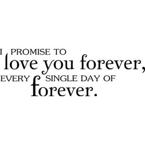 promise to love you forever every single day of forever Twilight ...