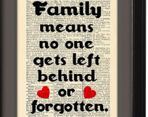 Family Quote, David Ogden Stiers quote,Typographic print, Dictionary ...