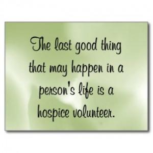 Good Works of the Hospice Volunteer by inspiredbygenius