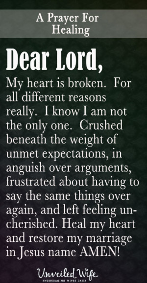 Related to A Broken Heart's Prayer | Best Life Quotes, Poems, Prayers