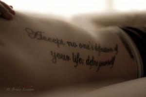 Beautiful tattoo quotes