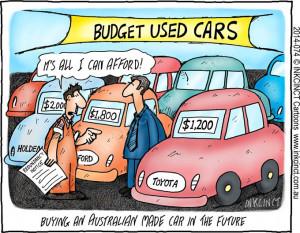 2014-074 11Feb14 Buying an Australian made car in the future.