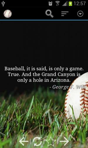 Baseball Quotes - screenshot