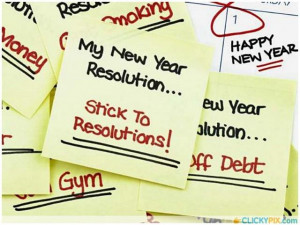 Here are 10 common New Year Resolutions chosen for children by adults.
