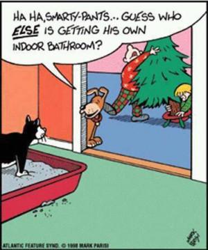 cute cartoon christmas cats