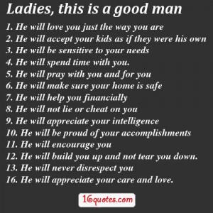 Good Man hard to find