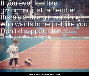 Quotes and Sayings About Volleyball