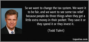 Tax System Quotes