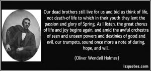 Quotes About Death Brother