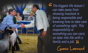 Livestock Showman Quotes