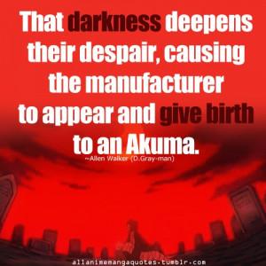 The very definition of an Akuma