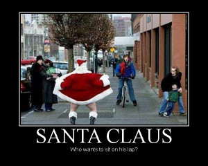The Largest Funniest Santa Pics Collection 2013