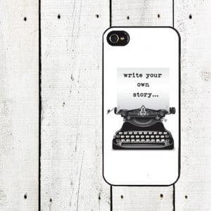 Write Your Own Story iPhone Case - Inspirational Quote iPhone Case ...