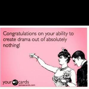 Congradulations! you're annoying..
