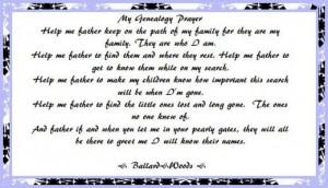 ... Quotes, Genealogy Scrapbook, Genealogy Prayer Mi, Genealogy Quotes