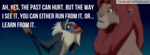 Lion King Quote Profile Facebook Covers