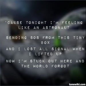 Astronaut by Simple Plan