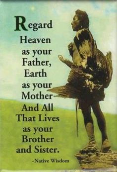 Famous Native American Quotes - Bing Images More