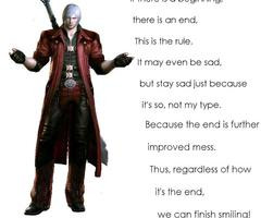 Devil May Cry Dante Quotes