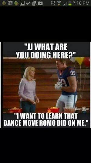 Ok I'm a Texans/Watt fan but I don't care. This is funny!!!