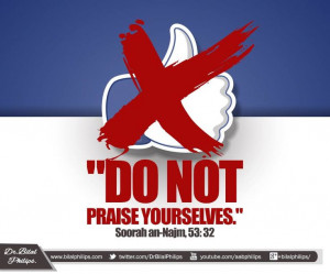 ... Quotes, Praise Yourselves, Ent Quran, Prohibition Self Praise, Islam