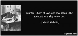 Murder Quotes and Sayings