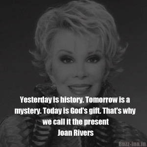 joan rivers today is mystery
