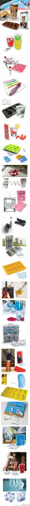 Funny photos funny ice cubes shapes cool