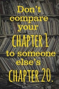 Stop Comparing Yourself To Others & Start Running Your Own Race.