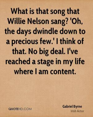 Gabriel Byrne Quotes