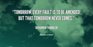 if tomorrow never comes quotes