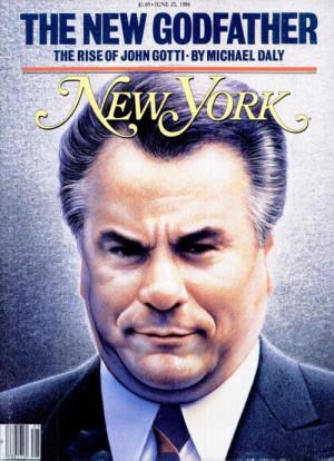 John Gotti #New York Magazine #Magazine Cover