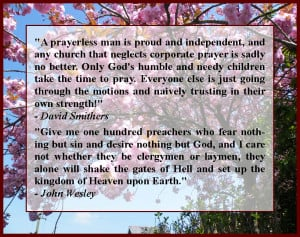 Great Quotes on Prayer & Preaching