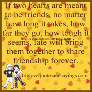 Long Distance Friendship Quotes And Sayings Funny Long Distance ...
