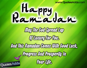 2015 Good Luck Quotations in English Language, Happy Ramadan Quotes ...