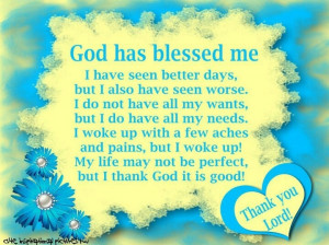 Amen I am truly blessed