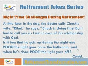 Retirement Joke # 1 - Funny Retirement Jokes Series! | PopScreen